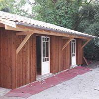 Chambres à ossature bois - bardage klin