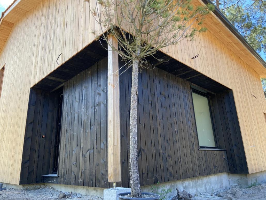 Maison à ossature bois à Carcans-Maubuisson