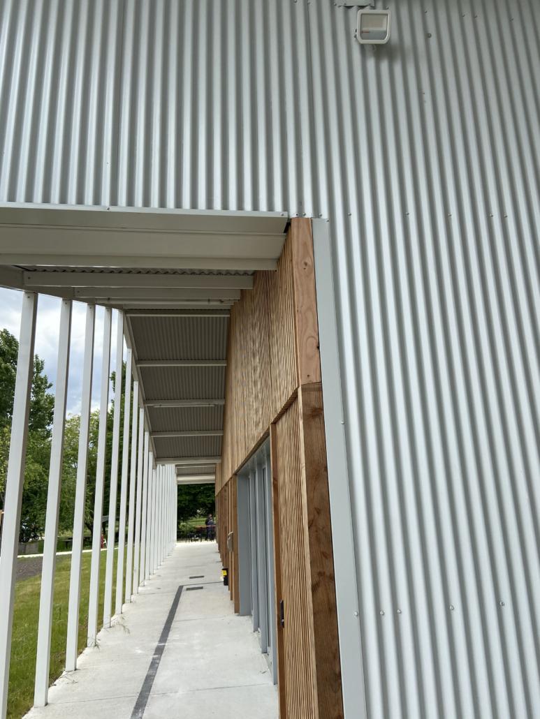 Hébergement en ossature bois pour Médecins Sans Frontières