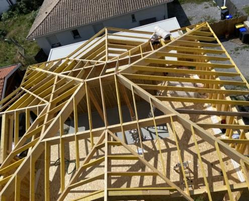 Construction maison en ossature bois