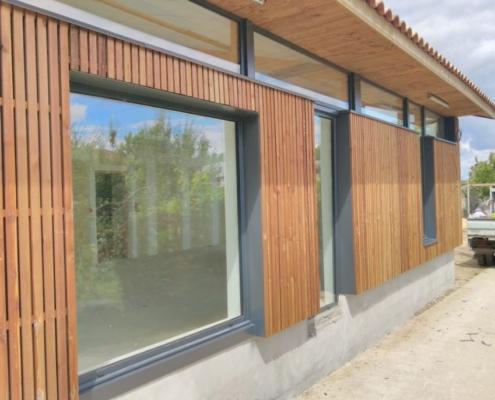 Restructuration bâtiment bois Tauriac